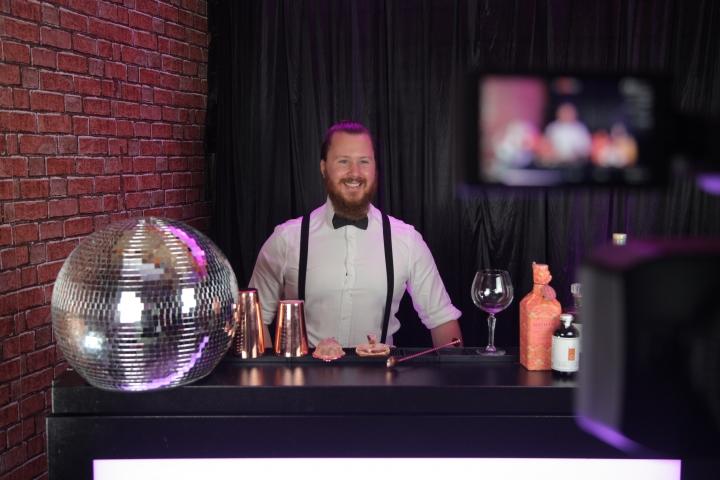 Divine Drinks — A Virtual Cocktail Cabaret